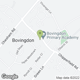 Map of Bovingdon Pre-School in Bovingdon, Hemel Hempstead, hertfordshire