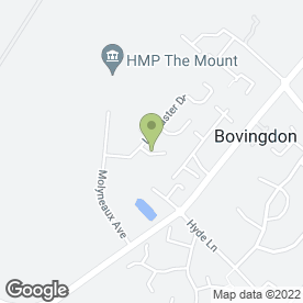 Map of ABA Decorators in Bovingdon, Hemel Hempstead, hertfordshire