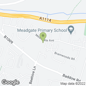 Map of Cheeky Monkeys Pre-School in Chelmsford, essex