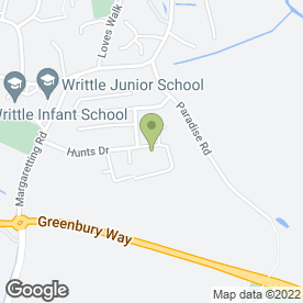 Map of A & L Carpet Cleaning in Writtle, Chelmsford, essex