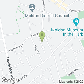 Map of Daisy Chain Day Nursery in Maldon, essex