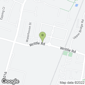 Map of Whitley House Surgery in Chelmsford, essex