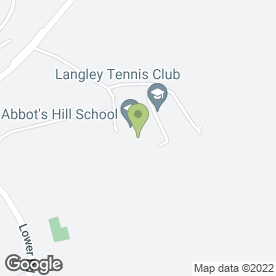 Map of ABBOT'S HILL SCHOOL in Hemel Hempstead, hertfordshire