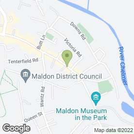 Map of House of Delight in Maldon, essex