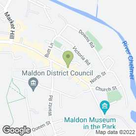 Map of Monro's Spa Treatment & Beauty Centre in Maldon, essex