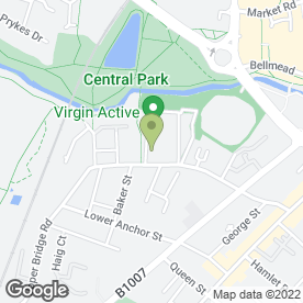 Map of Leapfrog Day Nurseries in Chelmsford, essex