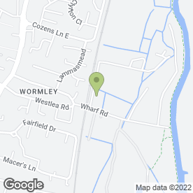 Map of H. Dent & Sons in Wormley, hertfordshire