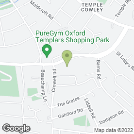 Map of Card Factory in Oxford, oxfordshire