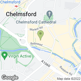 Map of Nosh Coffee & Sandwich Bar in Chelmsford, essex