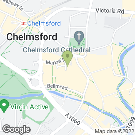 Map of Greggs in Chelmsford, essex