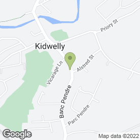 Map of Kidwelly Bed & Breakfast in Kidwelly, dyfed