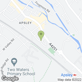 Map of Apsley Tyres in Hemel Hempstead, hertfordshire