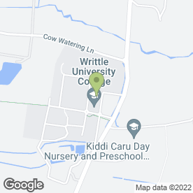 Map of Writtle College in Writtle, Chelmsford, essex