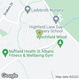 Map of Behind the Wheel - Educating Learner Drivers in St. Albans, hertfordshire