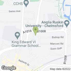 Map of Paul Starr Photographer in Chelmsford, essex