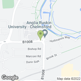 Map of Rivermead Gates Medical Centre in Chelmsford, essex