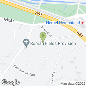 Map of bass-Camp.co.uk in Felden, Hemel Hempstead, hertfordshire