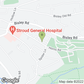 Map of P SCREEN SERVICES in Stroud, gloucestershire