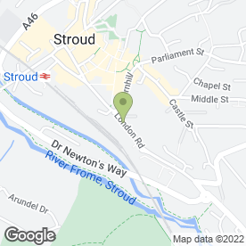 Map of PC Repairs & Maintenance in Stroud, gloucestershire