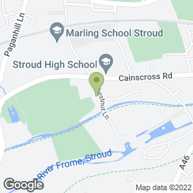 Map of Space Centre Self Storage (Stroud) in Stroud, gloucestershire