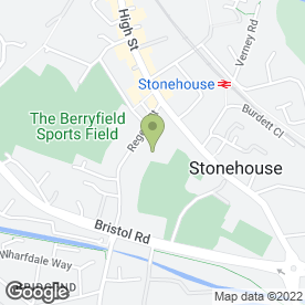 Map of Hopelands Preparatory School in Stonehouse, gloucestershire