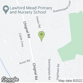 Map of Baddow Flooring Ltd in Chelmsford, essex