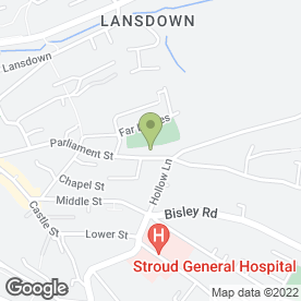 Map of Cotswold Playhouse Theatre in Stroud, gloucestershire