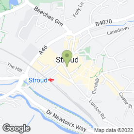 Map of Timpson Locksmith & Safe Engineers in Stroud, gloucestershire