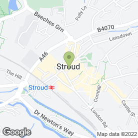 Map of Noble James Associates Ltd in Stroud, gloucestershire