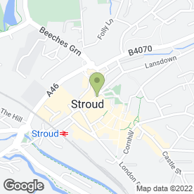Map of House Clearance in Stroud, gloucestershire