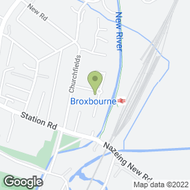 Map of Kitchens & Tiles in Broxbourne, hertfordshire