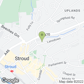 Map of Summerbee Builders in Stroud, gloucestershire