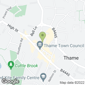 Map of Tickets Anywhere Ltd in Thame, oxfordshire
