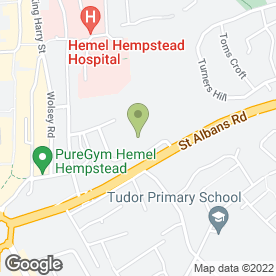 Map of 5 Star Accident Repair Centre in Wood Lane, Hemel Hempstead, hertfordshire