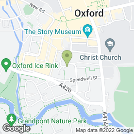 Map of Oxford Deaf & Hard Of Hearing Centre in Oxford, oxfordshire