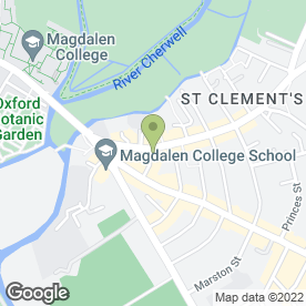 Map of Qumins Indian Cuisine in St Clements Street, Oxford, oxfordshire