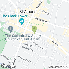 Map of Roy Pinnock & Co in St Albans, hertfordshire