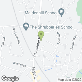 Map of Bowbridge Vets in Stonehouse, gloucestershire