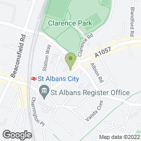 Map of Imperial Plumbing Services in St Albans, Hertfordshire, hertfordshire
