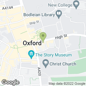 Map of HMG Law in Oxford, oxfordshire