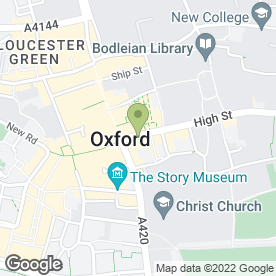 Map of Shezan in OXFORD, oxfordshire