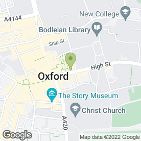 Map of Pia in Oxford, oxfordshire