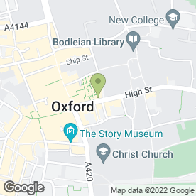 Map of Market News in Oxford, oxfordshire
