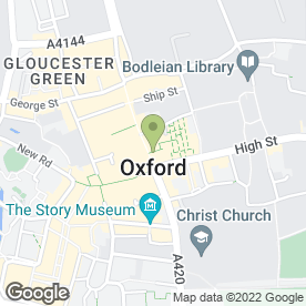 Map of 1ret a Manger in Oxford, oxfordshire