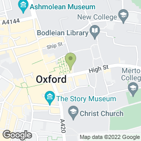 Map of Tim's Newsagents in Oxford, oxfordshire