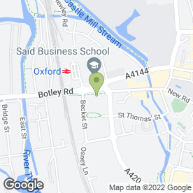 Map of Ruchi Takeaway in Oxford, oxfordshire