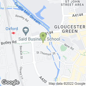 Map of Kiss Bar in Oxford, oxfordshire