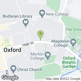 Map of Reginald Davis Ltd in Oxford, oxfordshire