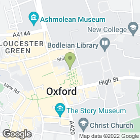 Map of Mortons in Oxford, oxfordshire