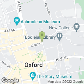 Map of Rowell of Oxford Ltd in Oxford, oxfordshire